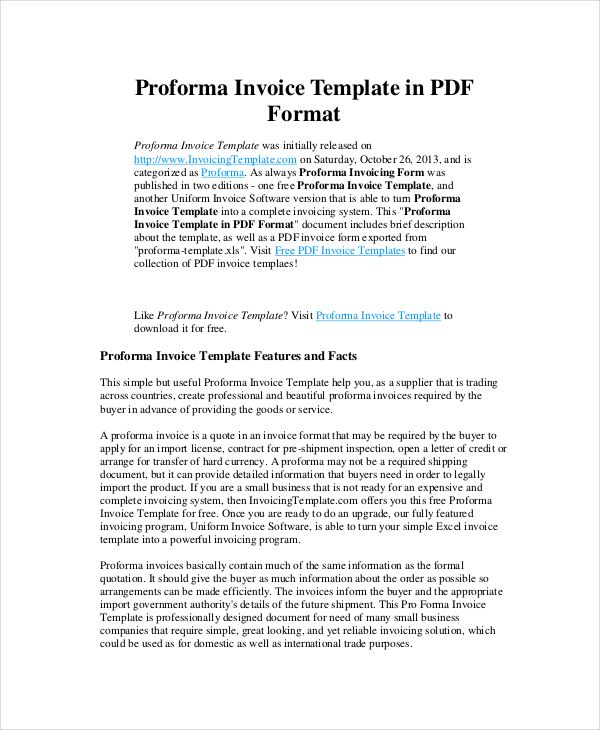 Proforma Invoice Template Invoice Template Nz For Tax Invoicing