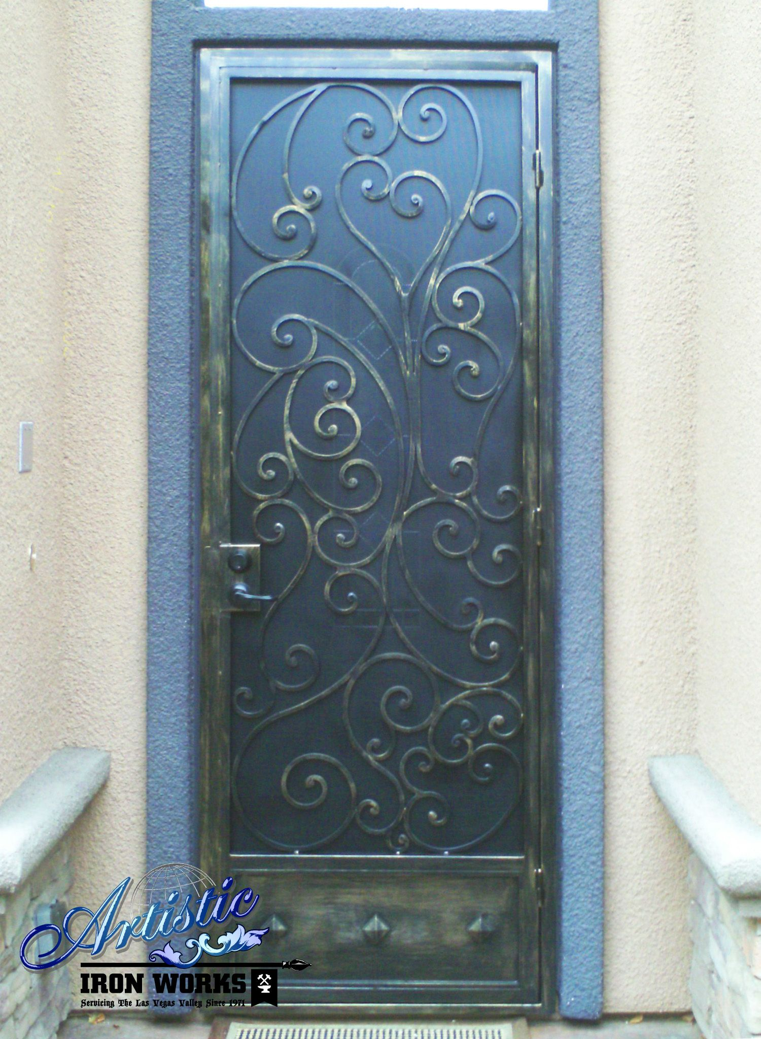 Security Doors With Images Wrought Iron Security Doors