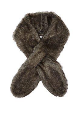Bcbgeneration long faux-fur scarf