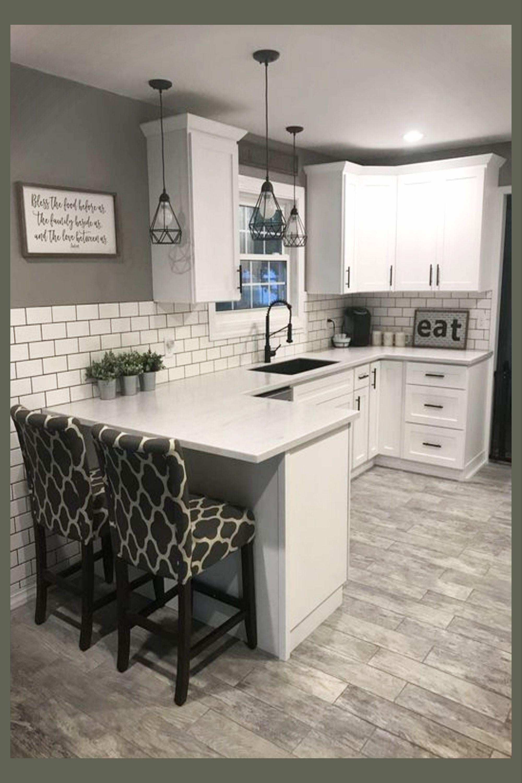 Modern farmhouse kitchen ideas on a budget - gorgeous farmhouse