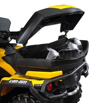 Can Am Atv Linq Premium Trunk Box 124l By Brp Oem 715000931 I Have This To Match My 2012 Can Am Outlander Max 650 You Can Fi Can Am Atv Can Am Cargo Storage