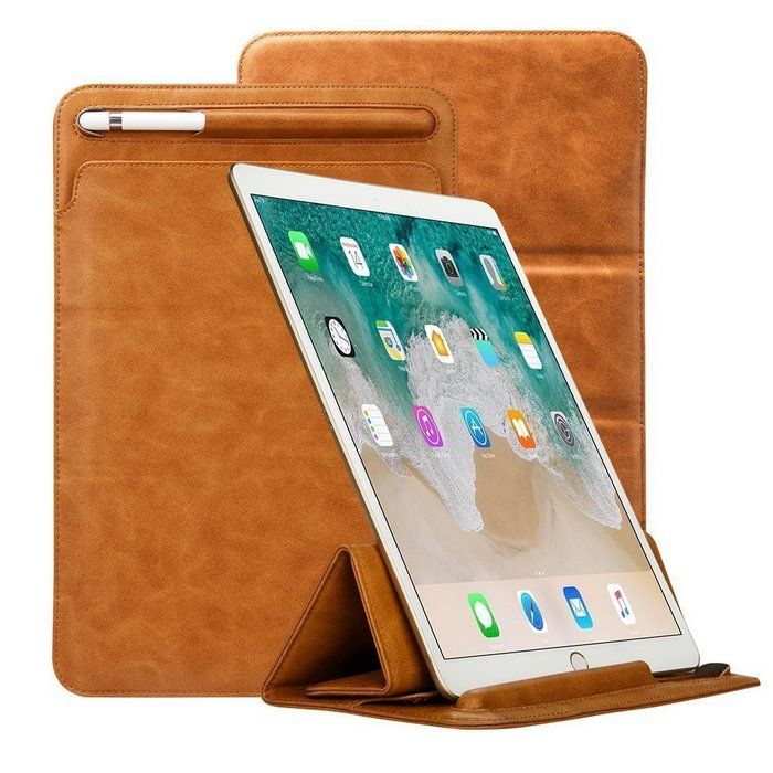 Ipad Pro 12.9 Case With Pencil Holder Toovren Trifold Ipad Pro 129 Case With Apple Pencil Holder