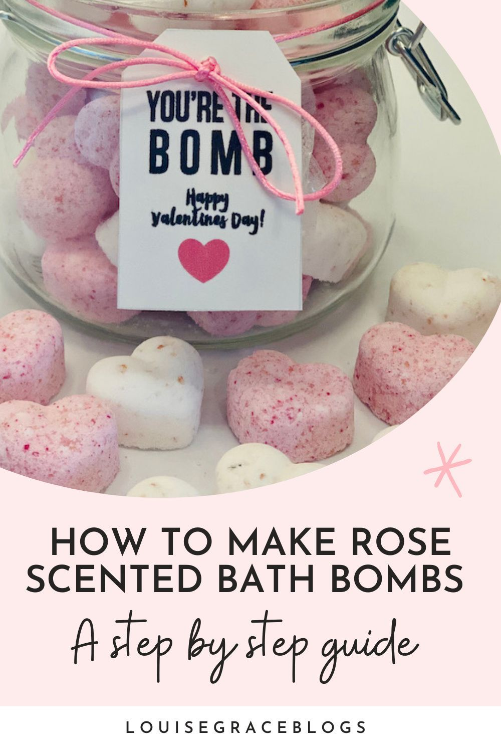 Learn how to make these easy DIY rose scented bath
