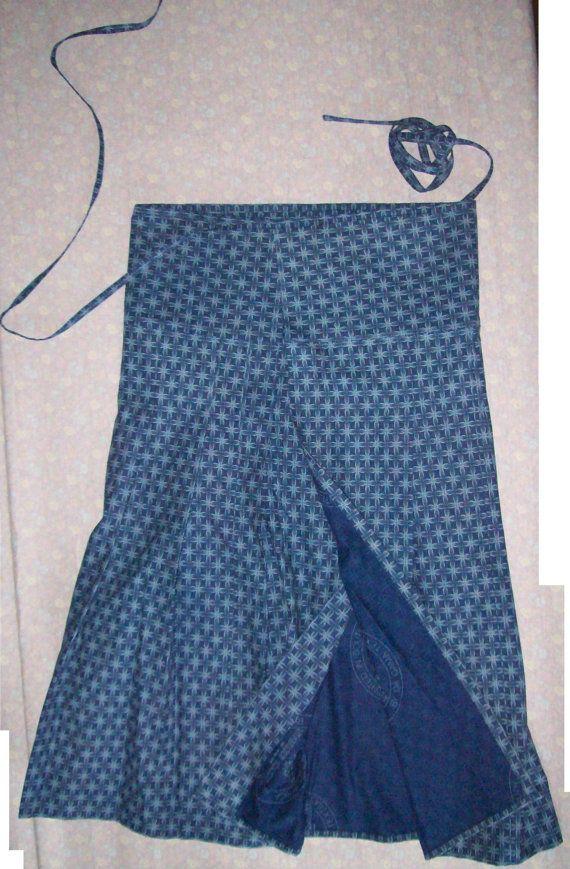 ebb7ddbfbfd Shweshwe wrap skirt