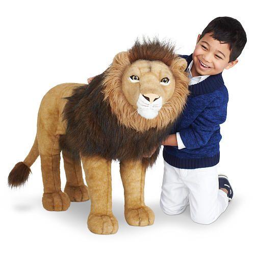 Toys R Us Lion Toys : Fao schwarz inch big lion tan brown