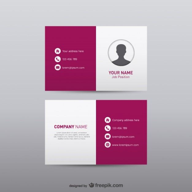 Free visual identity business card free vector shopping free visual identity business card free vector reheart Image collections