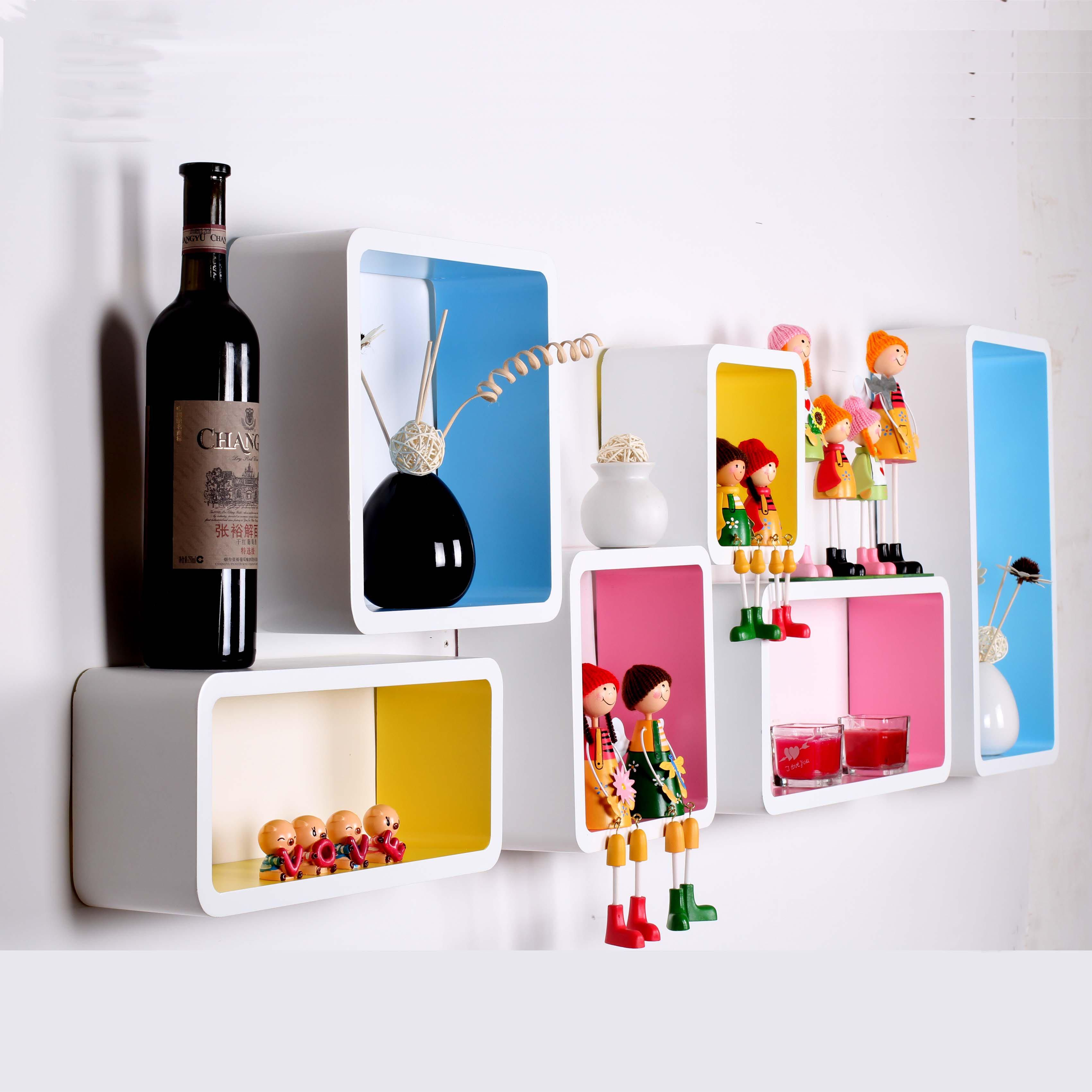 Cool Wall Shelves Design For Modern Teenage Bedroom Ideas. How To Build Wall  Mounted Shelves.