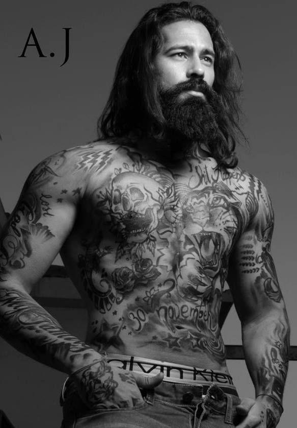 Dear Long Haired Men Tattoos For Guys Tattoos Inked Men