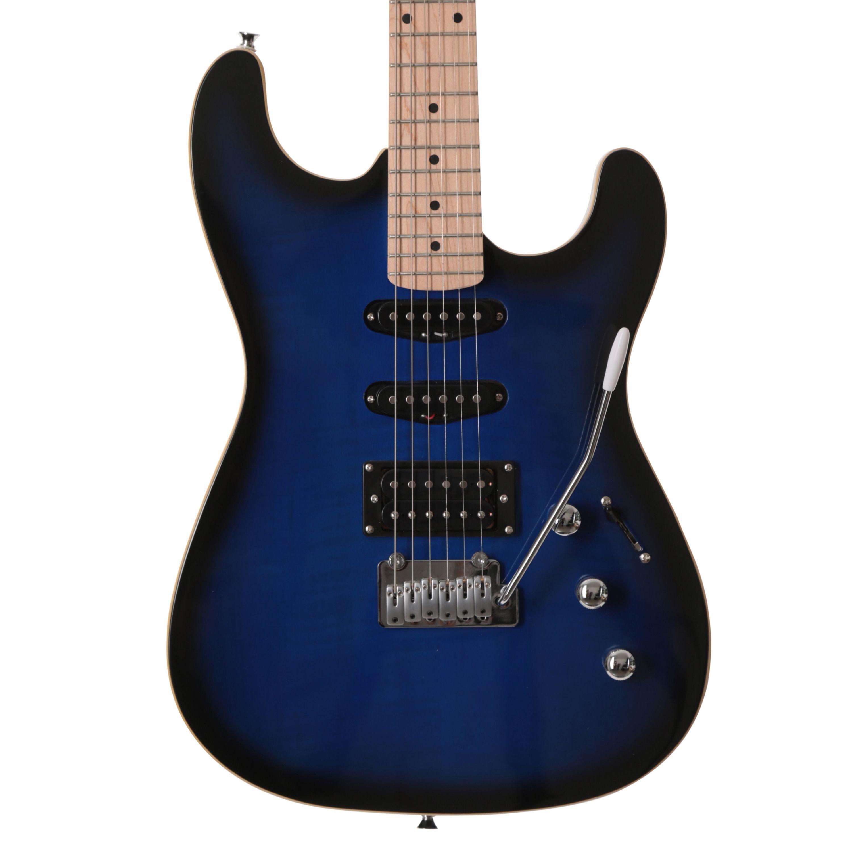 Eastcoast gs500 electric guitar in blue burst guitare