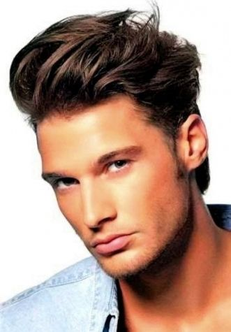 Images of Medium Hairstyles For Men With Wavy Hair