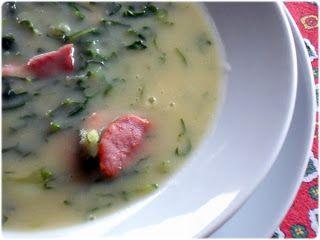 Elvira's Bistrot: Caldo verde de feijão
