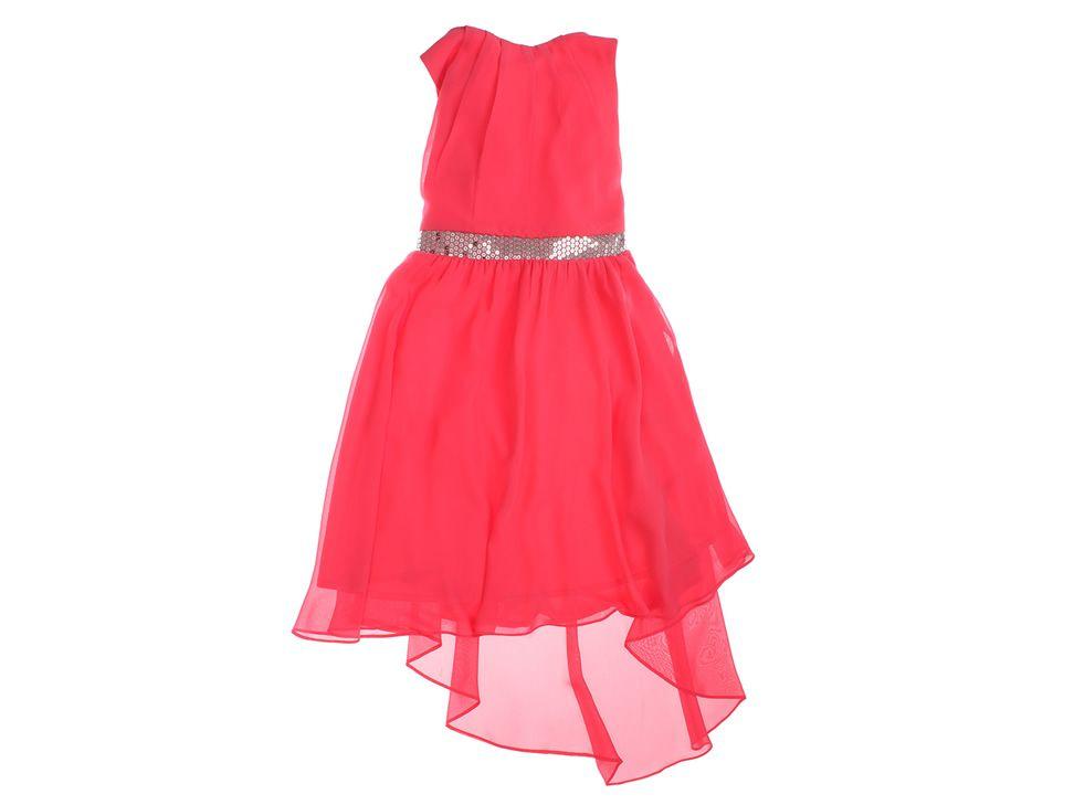 Vestido Liso Para Niña Pink Violet Liverpool Es Parte De