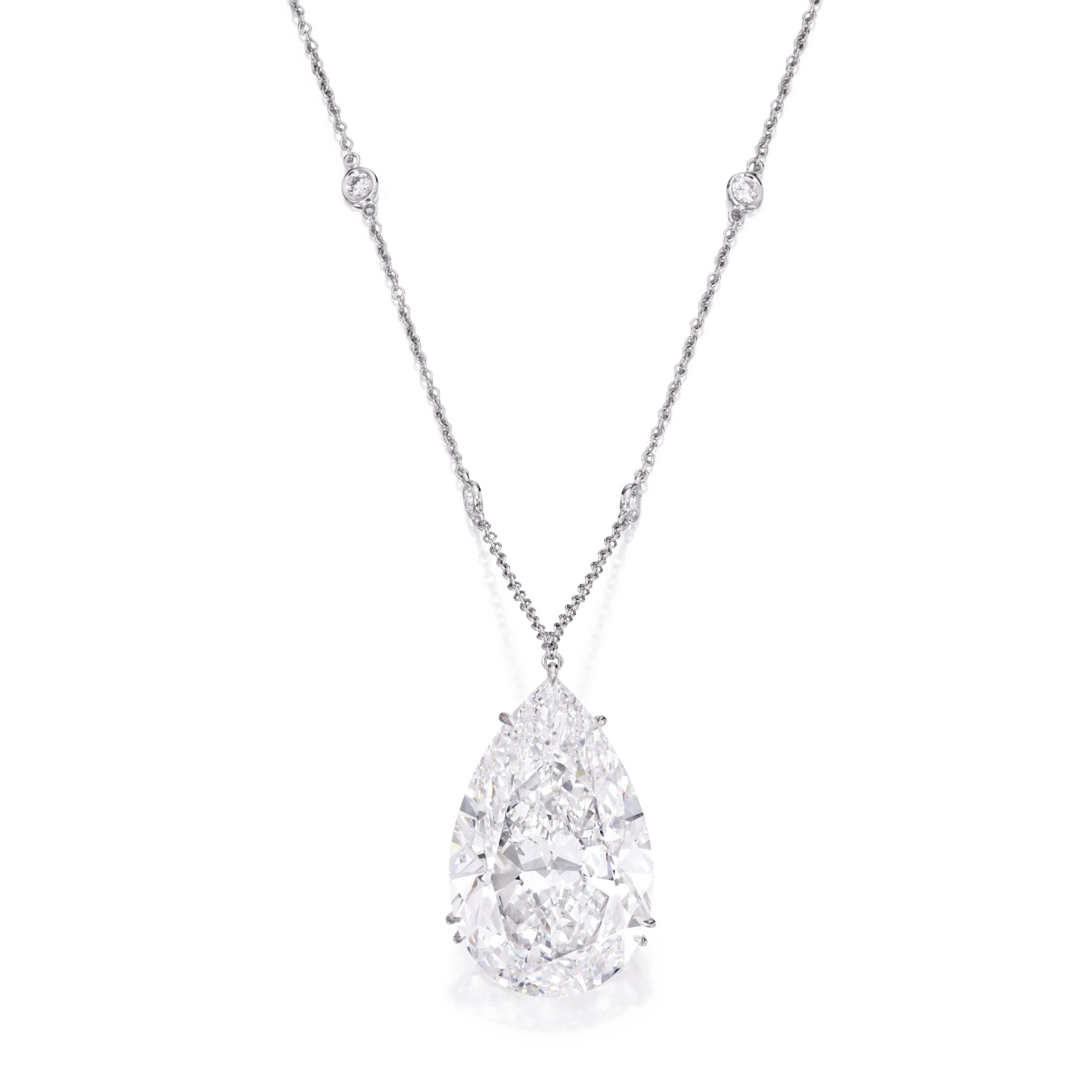 diamond w bezel product white gold diamonds pendant shaped round in pear crafted set