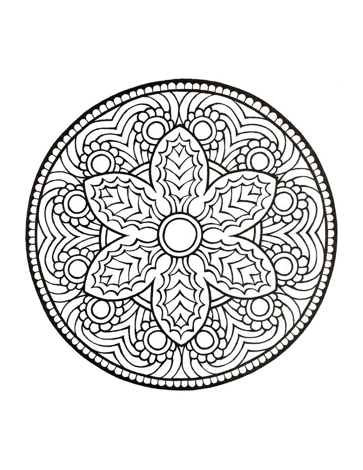 Unique Mandala Coloring Books 5 Mystical Mandala Coloring