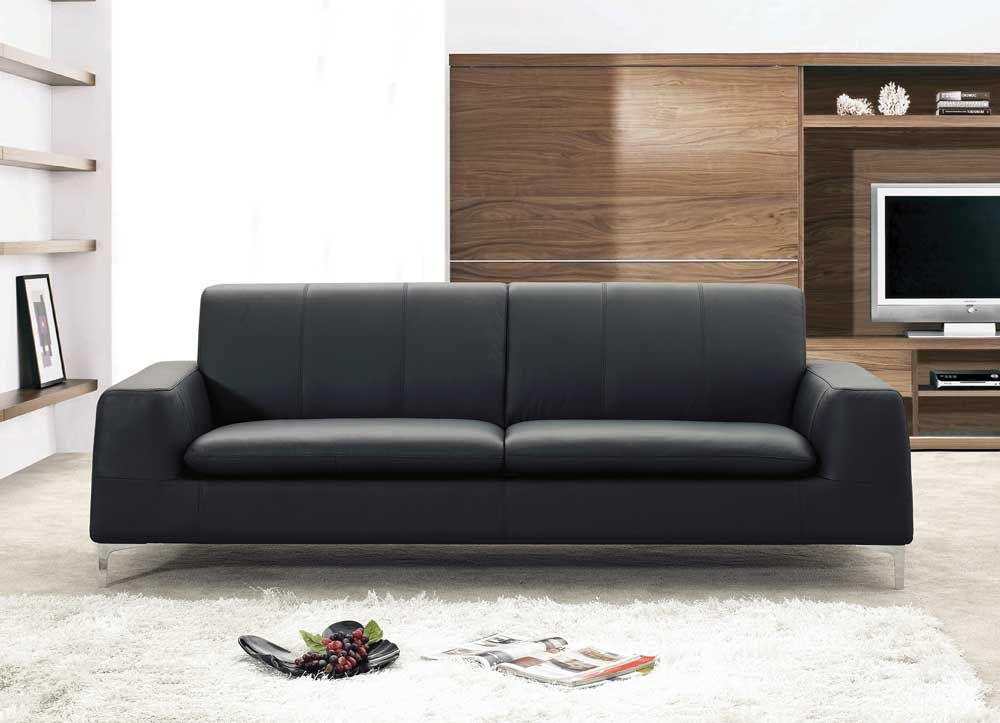 Contemporary leather sofas for stylish, modern and bright homes ...