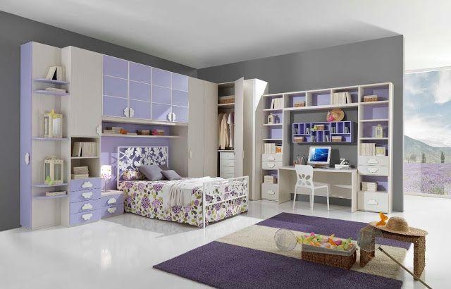 idée déco chambre ado fille moderne | decoration et design d ...