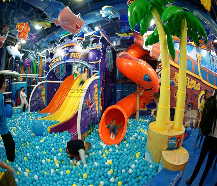 Happy Valley Indoor Play Centre: Enchanted Forest Indoor Playground System