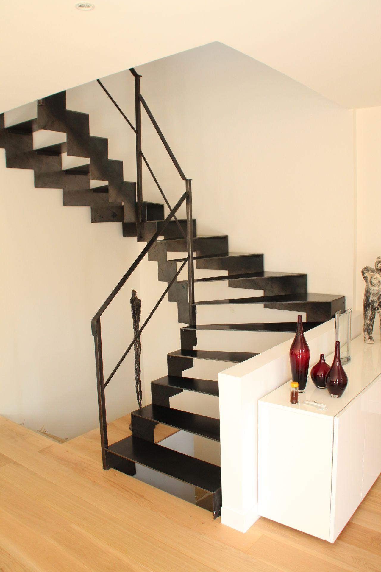 Escalier Balanc T Le Et Tube Dacier Brut Made By