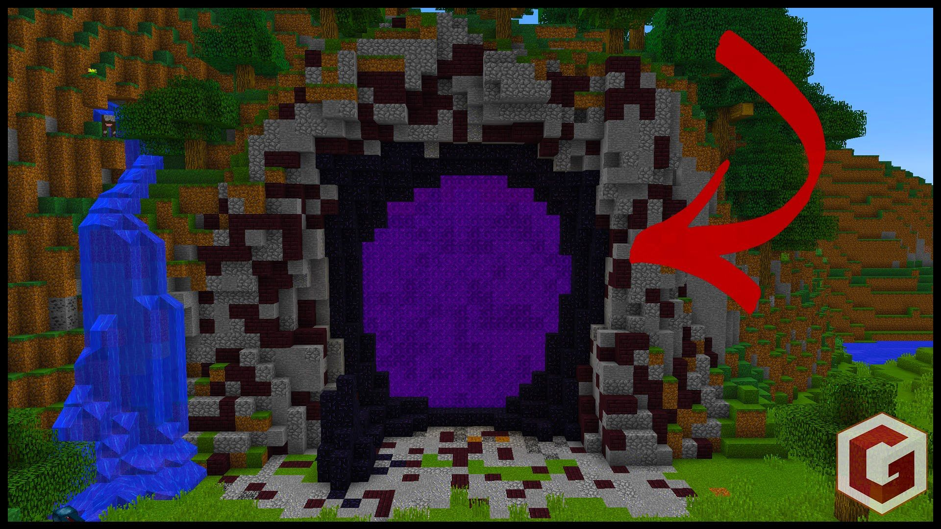 how to build all the portals in minecraft