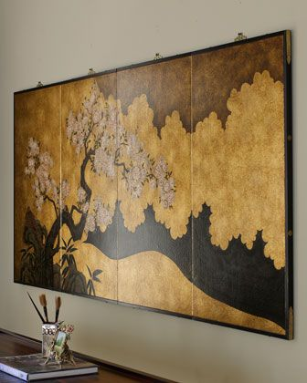 Asian Wall Panel Oriental Wall Art