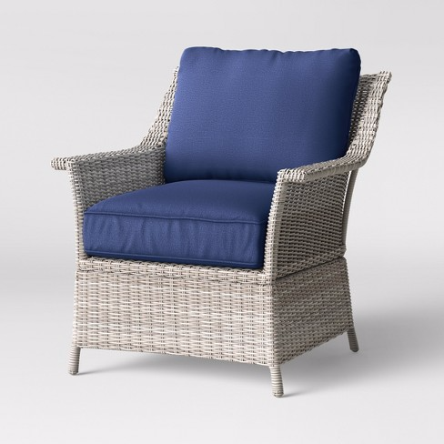 Bar Harbor 2pk Patio Club Chair Threshold Conversation Set