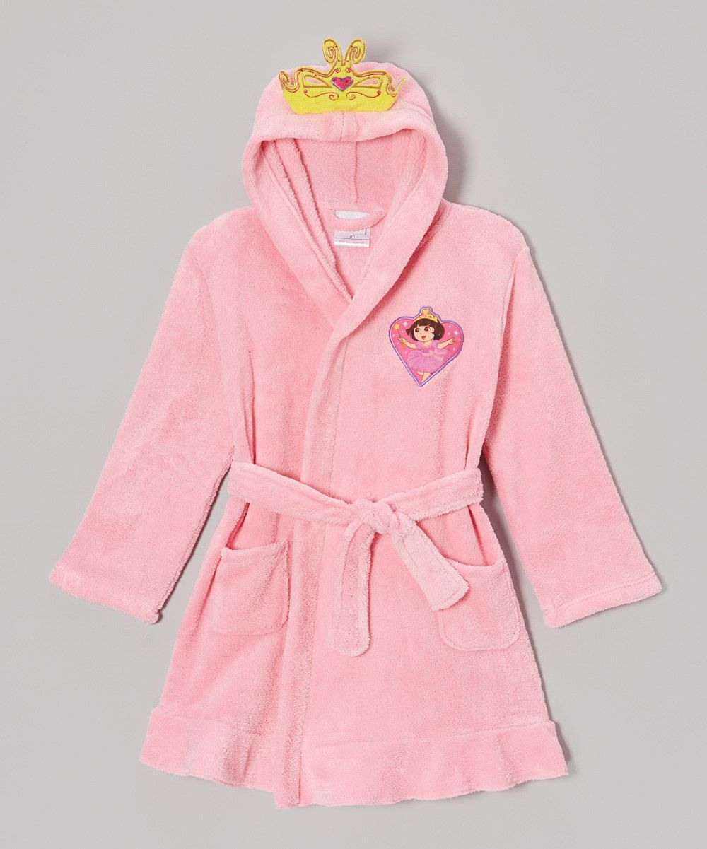 Look at this Pink Princess Dora Robe - Toddler on #zulily today ...