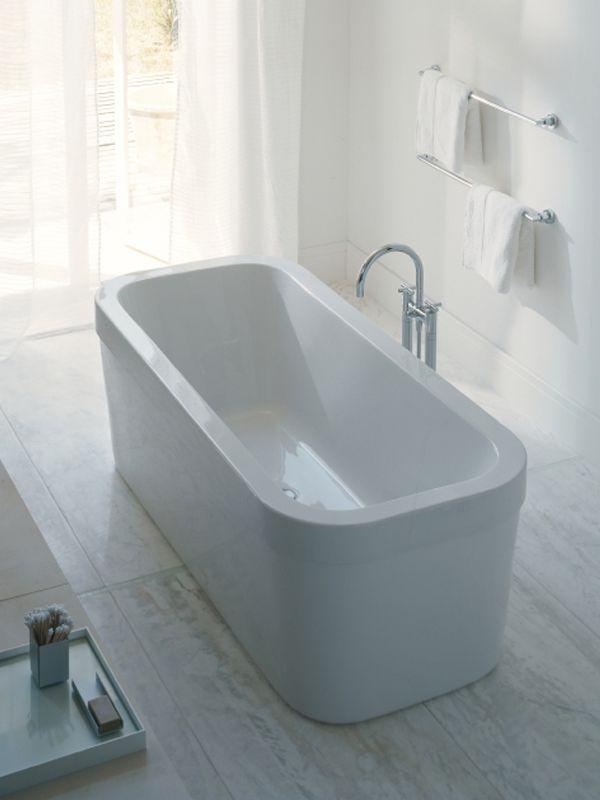 Duravit Happy D soaking tub http://www.irawoods.com/Duravit ...