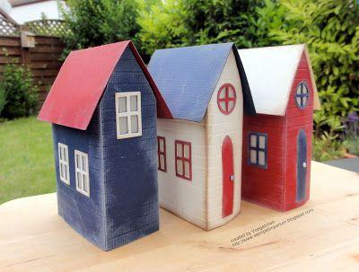 stempelimperium strandh uschen tim holtz village pinterest haus strand und strandh user. Black Bedroom Furniture Sets. Home Design Ideas
