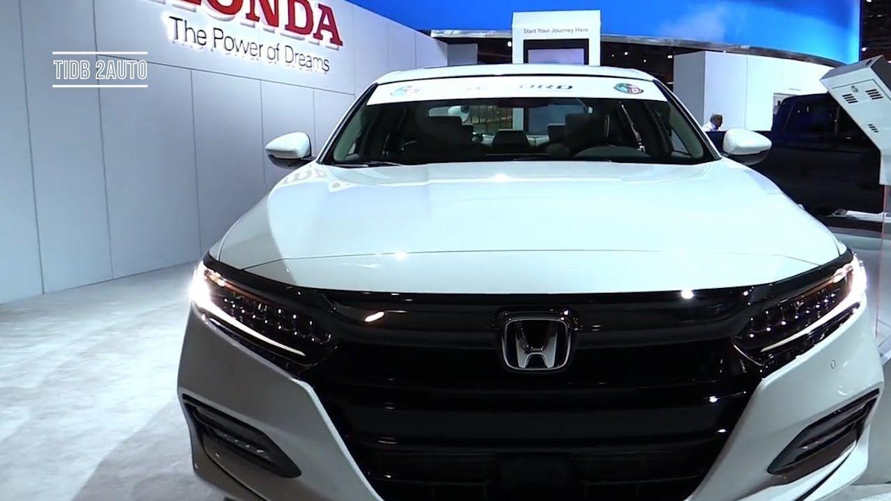 2018 Honda Accord 2.0T Touring 2018 Detroit Auto Show
