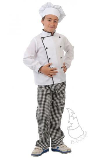 Disfraz de Cocinero Infantil  a84d3b3319c