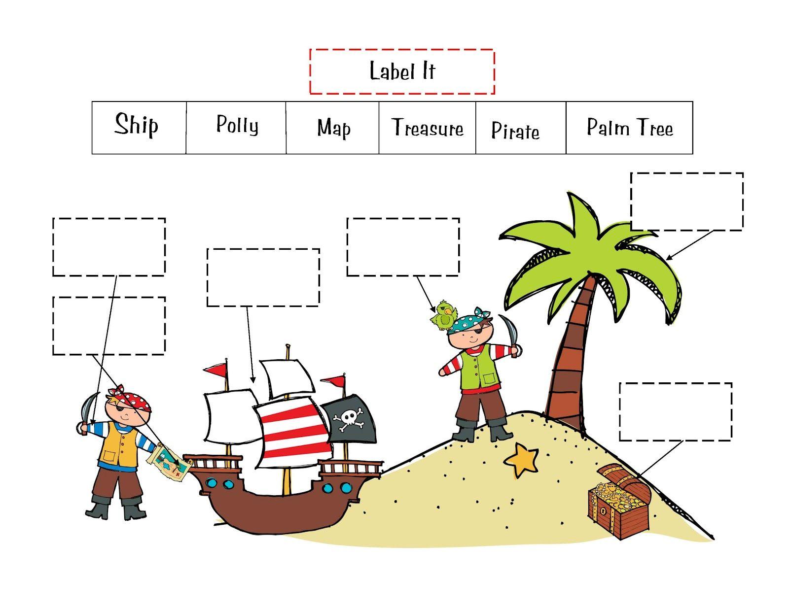 Pirate Theme For Preschool Preschool Printables Pirate Boy Printable Pirate Activities Pirate Preschool Pirates [ 1236 x 1600 Pixel ]