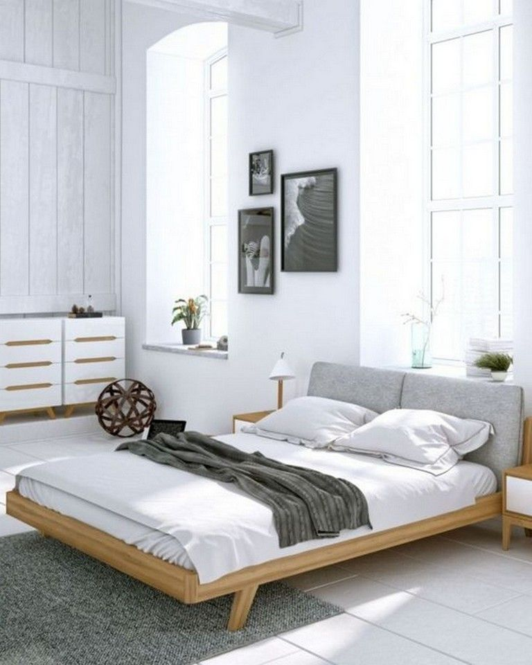 10 Make A Plainly And Elegance Bedroom Decor Using Scandinavian Design Minimalist Bedroom Design Modern Master Bedroom Design Scandinavian Bedroom Decor