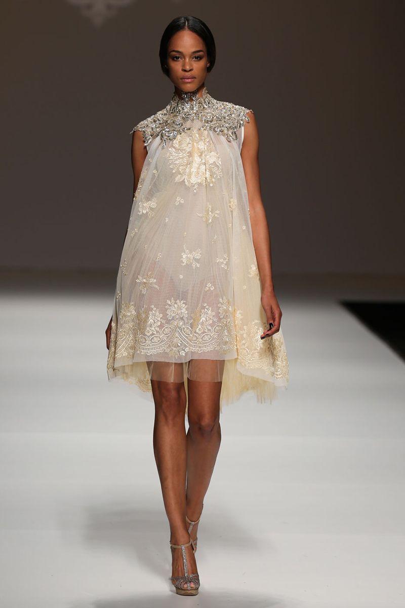 The best short wedding dresses from fall bridal week sweet