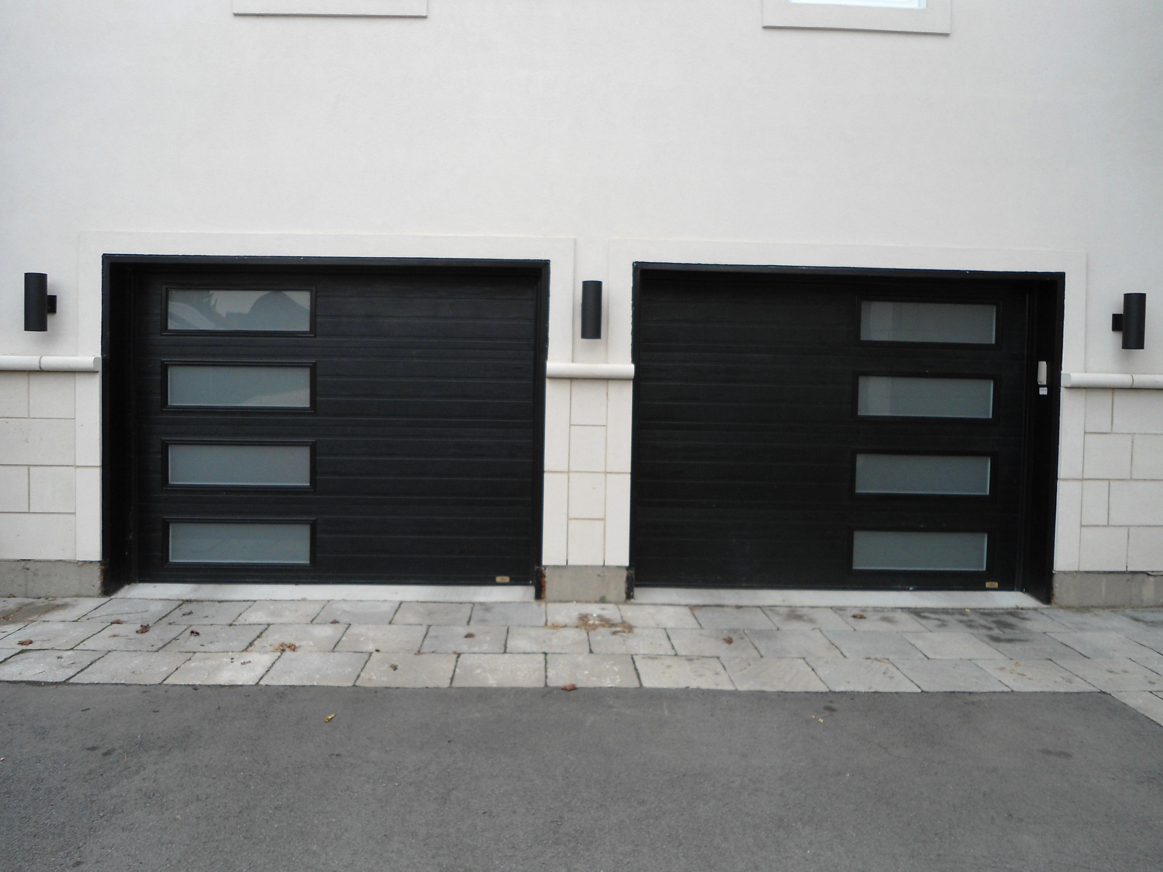 Spectacular Faux Wood Garage Doors Fauxwoodgaragedoors Modern Garage Doors Garage Doors Black Garage Doors