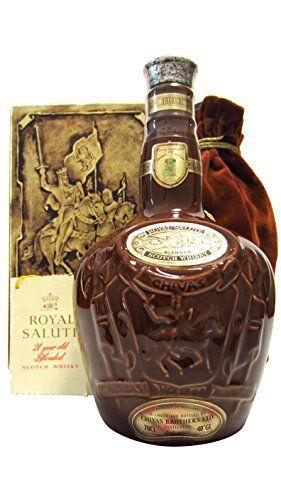 Chivas Regal Royal Salute Brown Flagon Old Bottling 21 Year Old Whisky Chivas Regal Whisky Original Box 70cl 700ml Whisky Ceramic Bottle Bottle