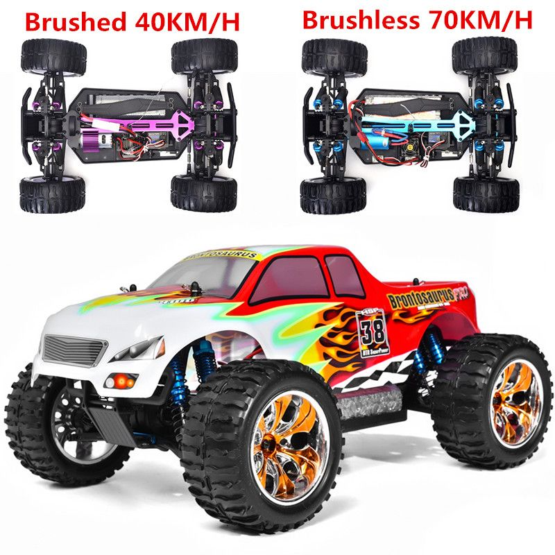 Hsp Rc Car Scale Off Road Monster Truck Remote Control