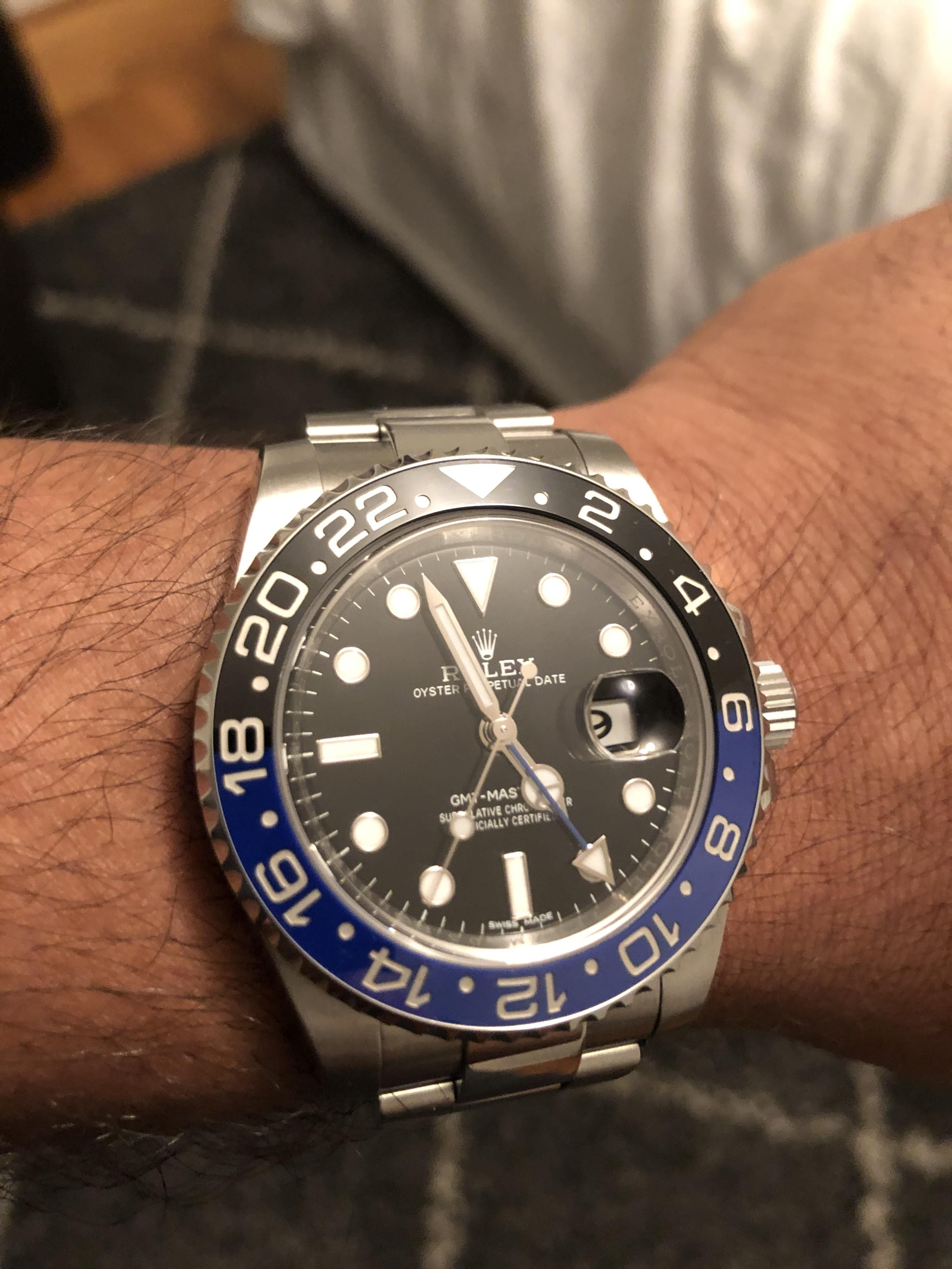 rolex  batman gmt for my daughter and me  4e1a720fe1