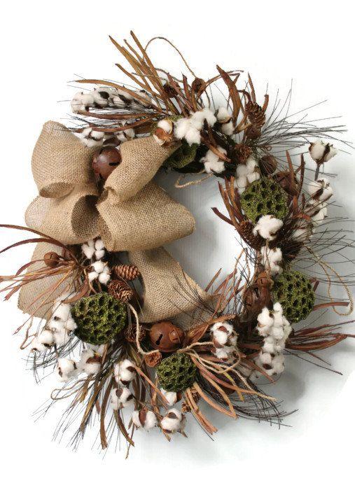 Mini Pinecone Wreath