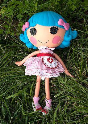 Cute 2017 Lalaloopsy Doll 12 Blue Hair Original