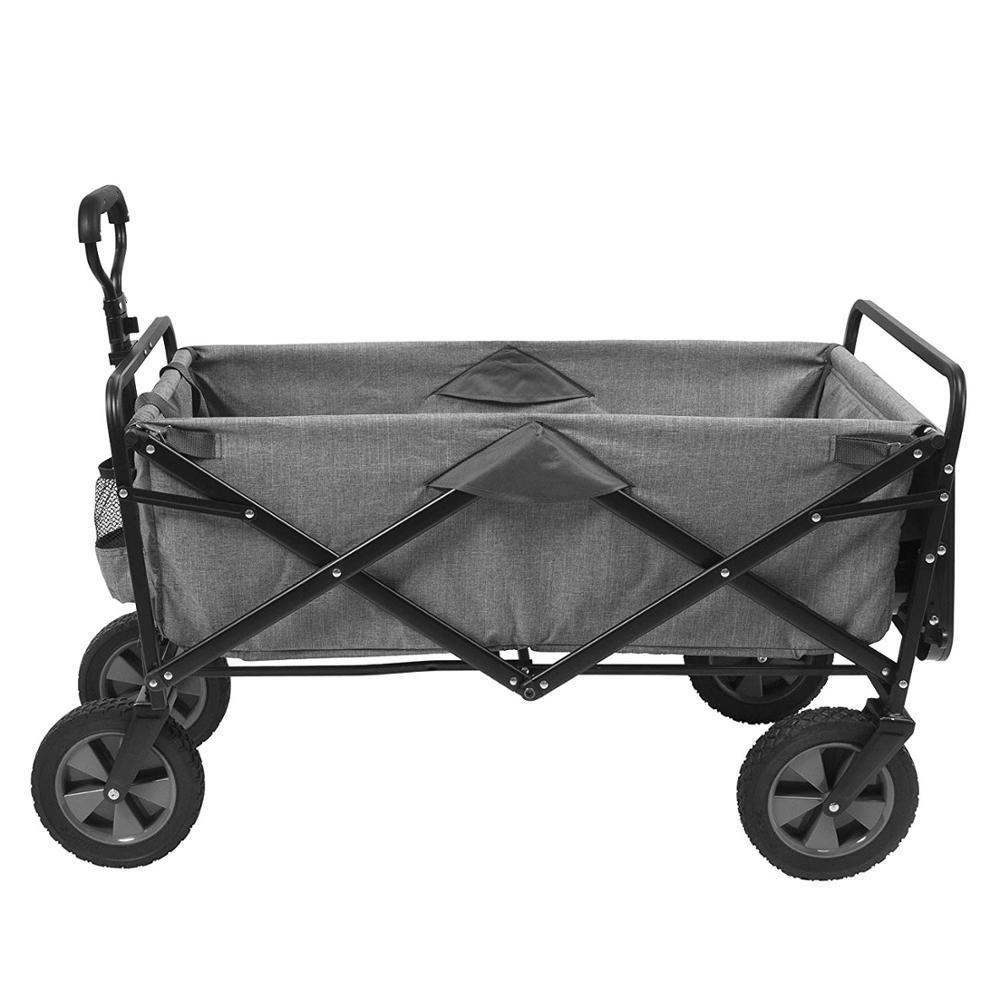 Convenient small folding outdoor tool wagonheel folding