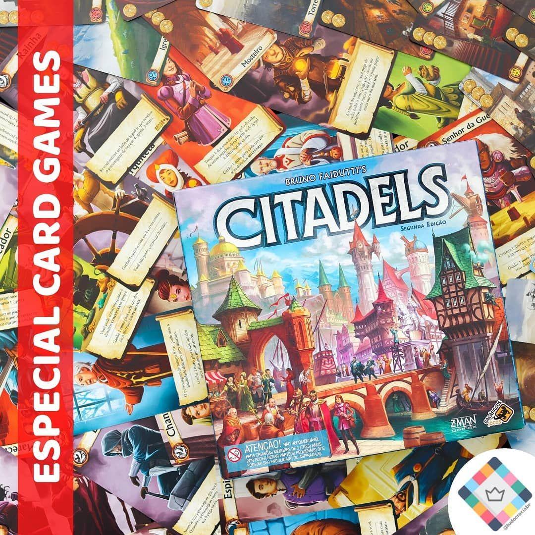 Cardgames Citadels Em Citadels Os Jogadores Disputam Entre Si O Titulo De Mestre De Obras Do Reino Para Isso Deverao Usar De Forma Sabia As Habilidades E