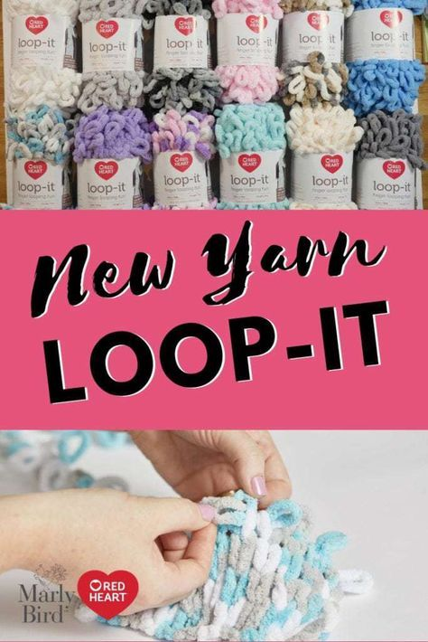 Loop It Puffy Seed Stitch Scarf With Images Finger