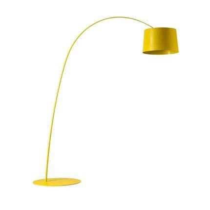 lampadaire jaune