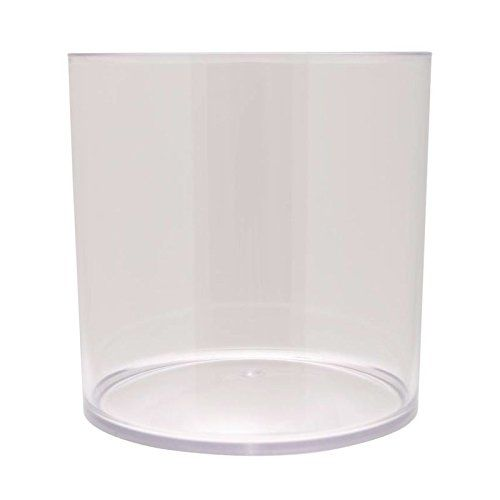 Royal Imports 5 Acrylic Clear Plastic Cylinder Vase 5x5 Round