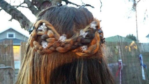 Braided bow