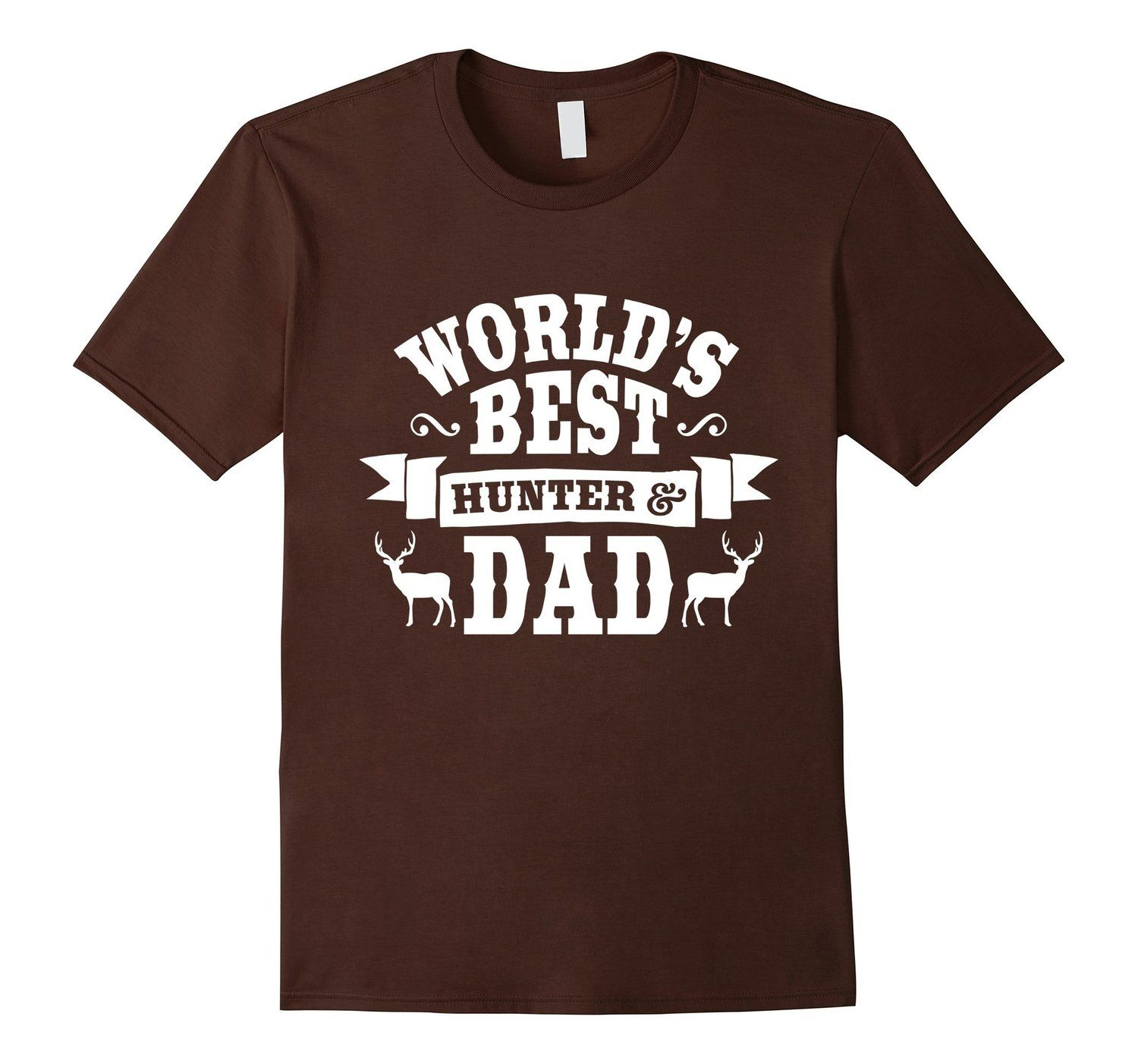 Amazon.com: World's Best Hunter & Dad T-Shirt - Father's Day Gift: Clothing