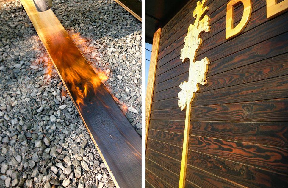 Japanese Charred Wood Siding Shou Sugi Ban Wood