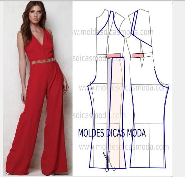 Pants jumpsuit   Models   Jumpsuit pattern, Sewing, Sewing patterns 9deddef6c4b