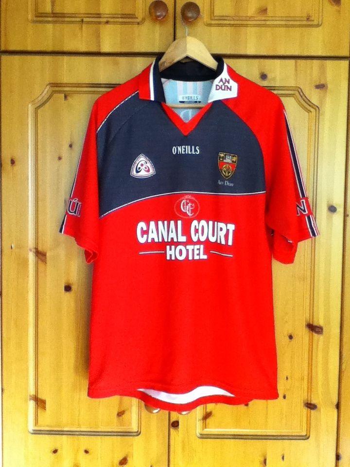 33296a5a979 Down Gaelic Football Home Jersey 2006 to 2008 Medium Adult GAA Irish Ireland