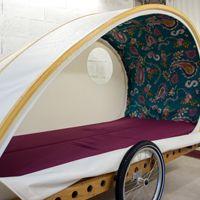 Foldavan - towable tent.